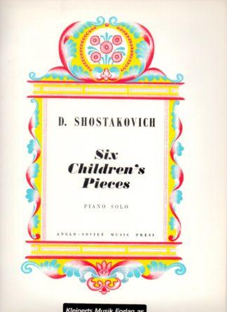 6 kompositioner til børn. 2 stemmig easy klaver