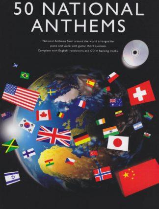 sangbog med national melodier fra hele verden