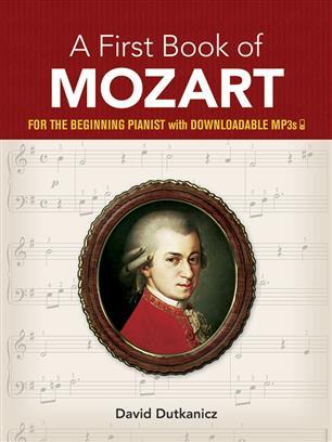 A first book of Mozart David Dutkanicz nodebog klaver