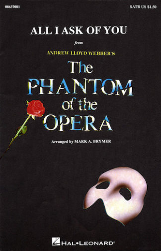 korarrangement fra Phantom of the Opera
