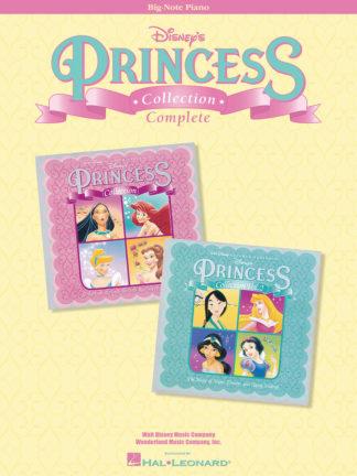 nodebog med prinsesse melodier fra Disney