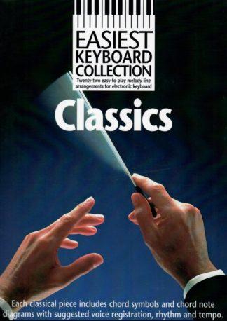 klassisk musik noder arrangeret til keyboard og elorgel