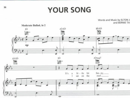 Nodeeksempel: your song PVG