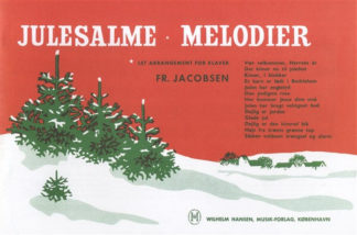 Julesalme-melodier klaversats let