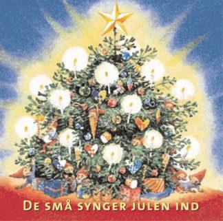Cd med julesange af de små synger