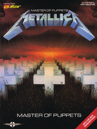 Metallicas MAster of Puppets guitar node