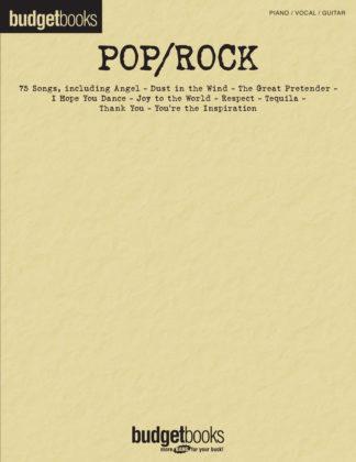 Billig nodebog med masser af pop/rock sange