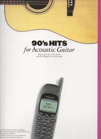 hits fra 1990erne for akustisk guitar