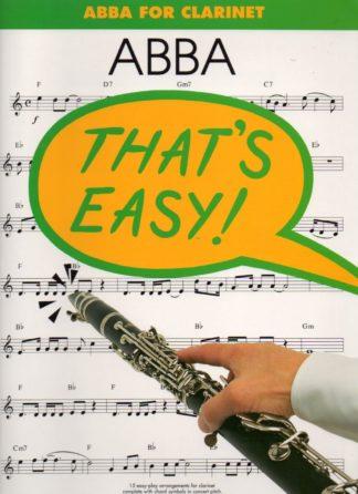 Abba melodier til klarinet