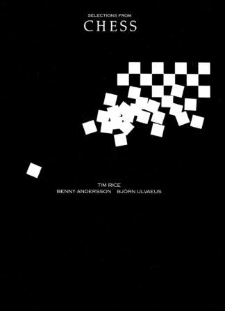 Udrag af musicalen CHESS noder til klaver guitar og vokal