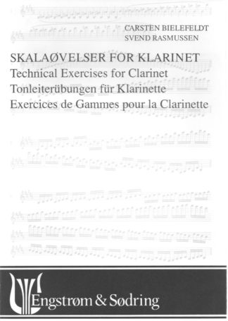 Carsten Bielefeldt og Svend Rasmussens skalaøvelser for Klarinet