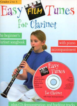 klarinetsangbog med klaver akk.