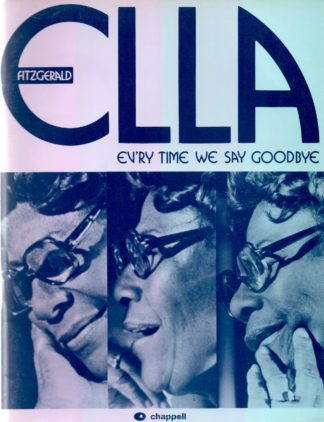 Ella Fitzgerald: Every Time We Say Goodbye