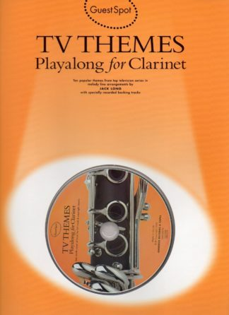 Guest Spot: TV Themes Playalong For Clarinet