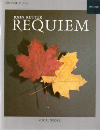 Requiem af John Rutter for sopran solo, blandet kor (SATB) og orkester (eller orgel m. ensemble). Klaverudtog.
