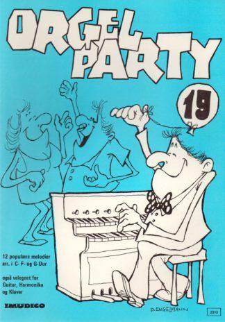 Orgel Party 19 fra Imudico med 12 lette melodier