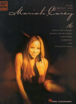 Mariah Carey for easy guitar