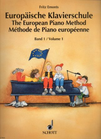 1. del af Fritz Emonts europæiske klaverskole. Denne serie har høstet anerkendelse verden over. Engelsk/Tysk/Fransk.