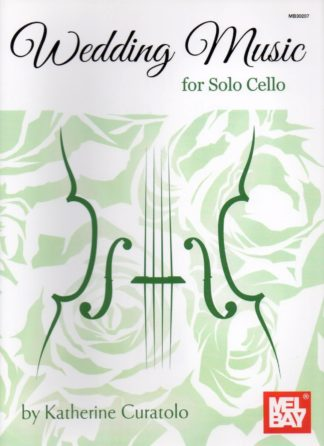 For solo cello, this book is a collection of straightforward wedding arrangements without piano. Inside you will find the most commonly requested music for wedding ceremonies, from traditional favorites to beautiful classical pieces that are sure to provide an elegant musical experience.