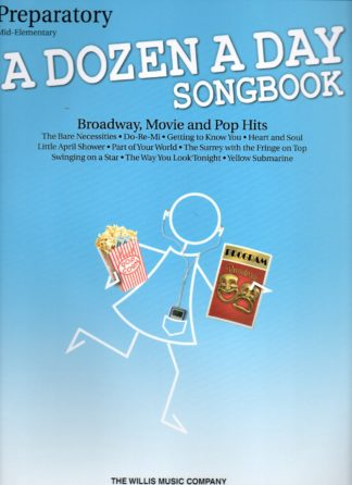 CLOSER LOOK A DOZEN A DAY SONGBOOK – PREPARATORY BOOK
