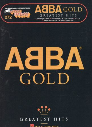Easy Piano Abba Gold
