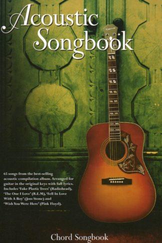 sangbog med akkorder til akustisk guitar