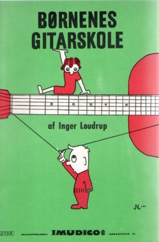 Børnenes guitarskole af Inger Loudrup