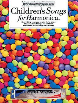 noder til mundharmonika engelske børnesange