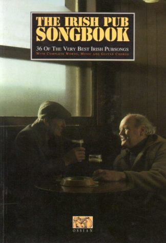 Sangbog med irske sange til pubben