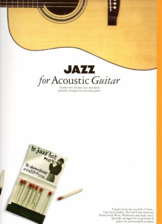 Jazz standars for akustisk guitar