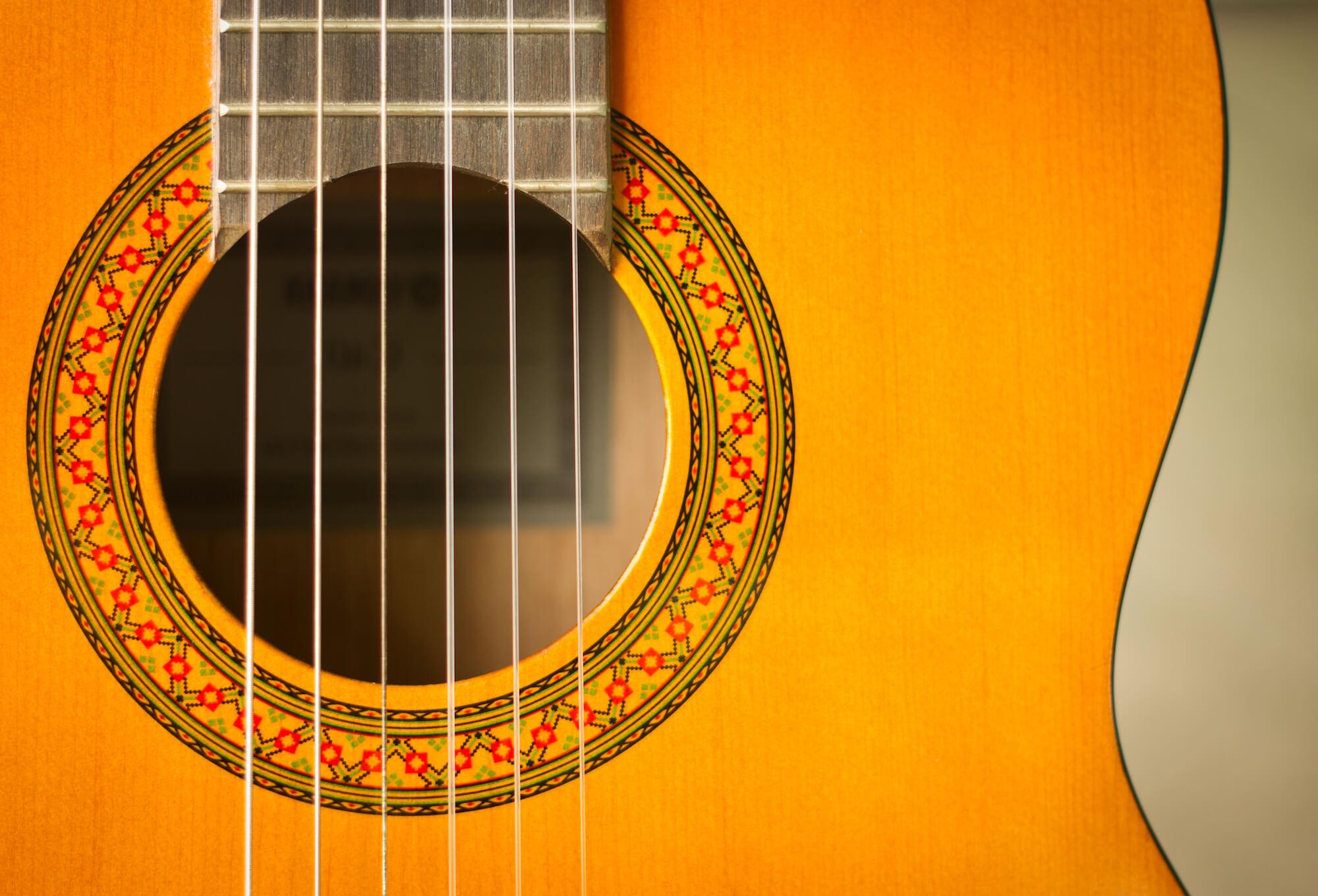 Noder til klassisk spansk guitar