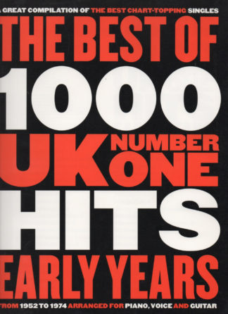 The Best Of 1000 UK No.1 Hits:
