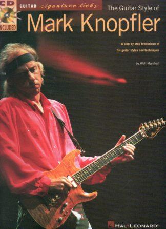 nodebog med mark knoflers soloer og bedste guitarnumre