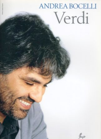 A selection of arias from the operas of Verdi, arranged for piano and solo voice. Selected by Andrea Bocelli, incuding arias from operas such as La Traviata, Rigoletto and Aida.