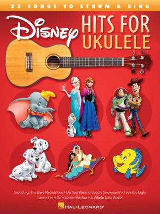 disney melodier med noder til ukulele
