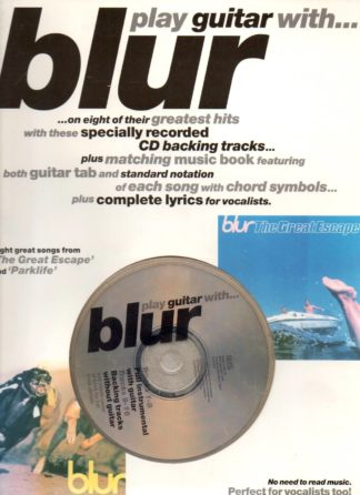play guitar with blur