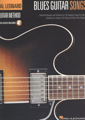 Nodebog til guitar med 10 bluesnumre