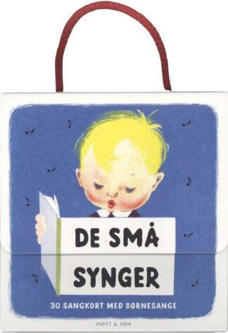 De små synger kuffert med 30 sangkort