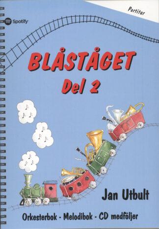 Partiturnode til Blåståget 2 sammenspil
