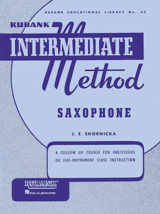 Rubank Intermediate Method – Saxophone
