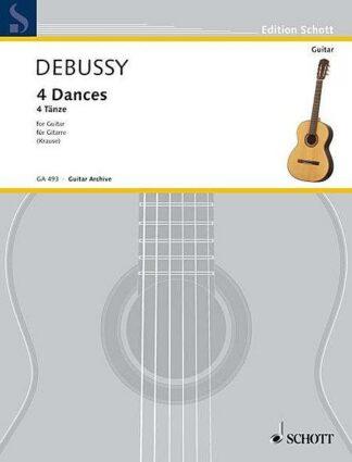 4 Dances - Claude Debussy