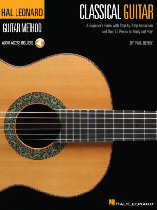The Hal Leonard Classical Guitar Method is designed for anyone just learning to play classical guitar. This comprehensive and easy-to-use beginner's guide by renowned classical guitarist and teacher Paul Henry uses the music of the master composers to teach you the basics of the classical style and technique. The accompanying audio features all the pieces in the book for demonstration and play along. Includes pieces by Beethoven, Bach, Mozart, Schumann, Giuliani, Carcassi, Bathioli, Aguado, Tarrega, Purcell, and more. Includes all the basics plus info on PIMA technique, two- and three-part music, time signatures, key signatures, articulation, free stroke, rest stroke, composers,and much more. Does NOT include tablature. Audio is accessed online using the unique code inside each book and can be downloaded or streamed. The audio also includes PLAYBACK+ features such as tempo adjustment, looping, and other features to assist with practice.
