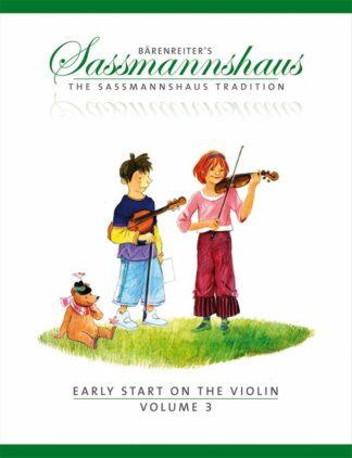 Det tredje bind fremhæver duetspil i en lang række nøgler og rytmer og musikalske stilarter. Forskellige fingermønstre og strøg praktiseres grundigt