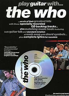 Playing guitar with The Who