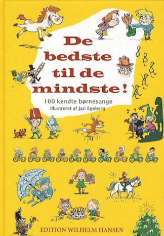 børnesangbog med 100 sange