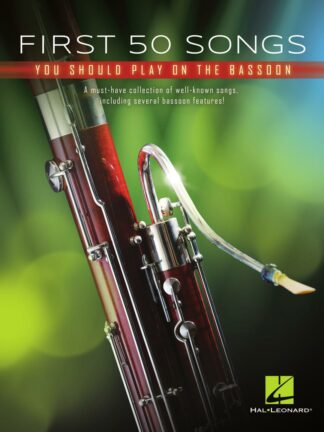 First 50 Songs You Should Play on Bassoon forside