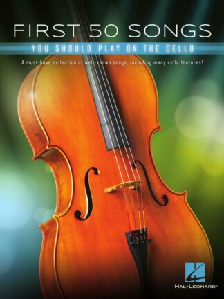 First 50 Songs You Should Play on Cello forside
