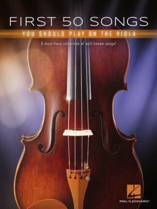 First 50 Songs You Should Play on the Viola forside